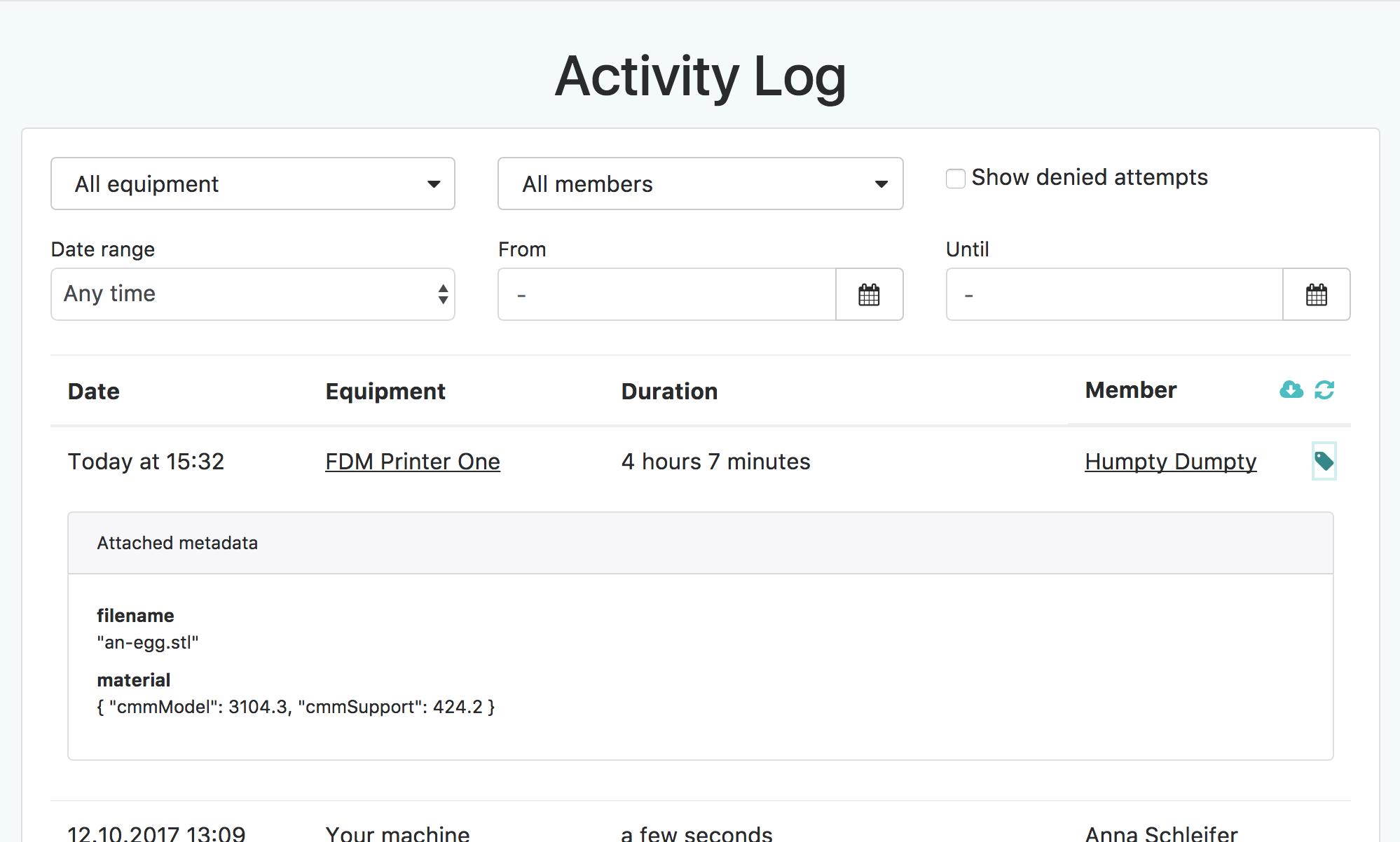 New APIs for 3rd-party bridges & activity log metadata ...