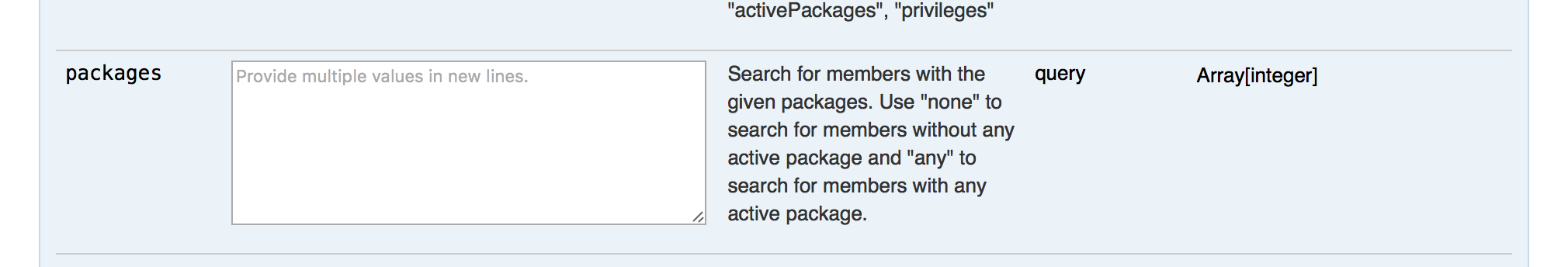 packages%20parameter